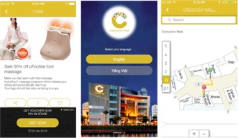 Crescent Shopping Mall Mobile Engagement