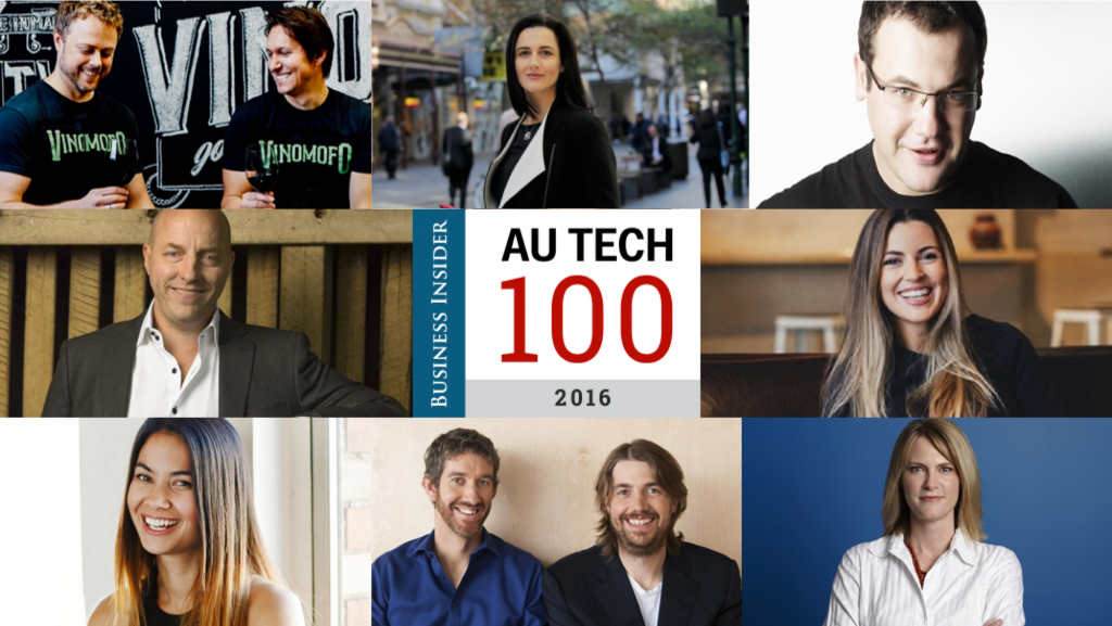 Tech Australia 100 coolest