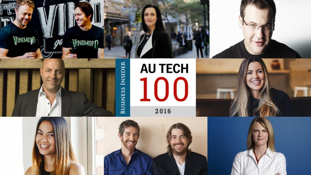 Tech Australia 100 coolest