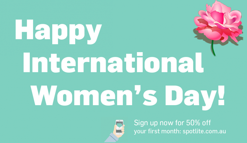 SpotLite - International Women's Day