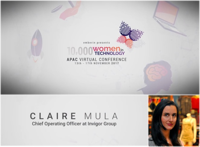 Claire Mula Women in Technology
